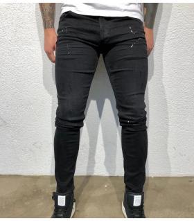 Παντελόνι jean ανδρικό slash & color splash BL3293