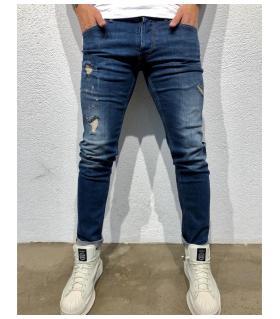 Παντελόνι jean ανδρικό damages BL3297