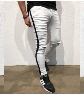 Παντελόνι jean ανδρικό black stripe BL3311