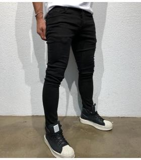 Παντελόνι jean ανδρικό total black BL3319
