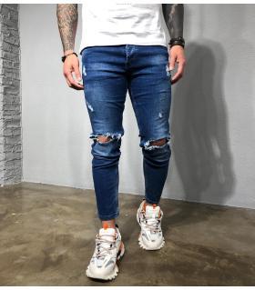 Παντελόνι jean ανδρικό slash BL3357