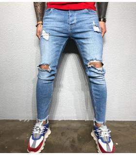 Παντελόνι jean ανδρικό slash BL3361