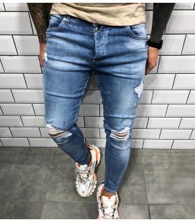 Παντελόνι jean ανδρικό slash BL3379