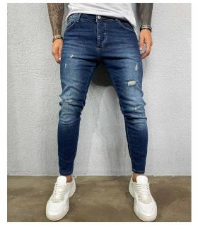 Παντελόνι jean ανδρικό slash BL3389