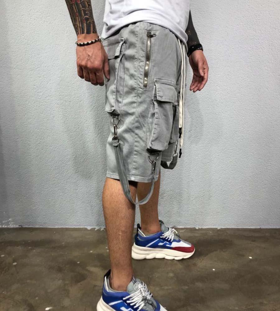 Βερμούδα ανδρική zip & pockets BL3415