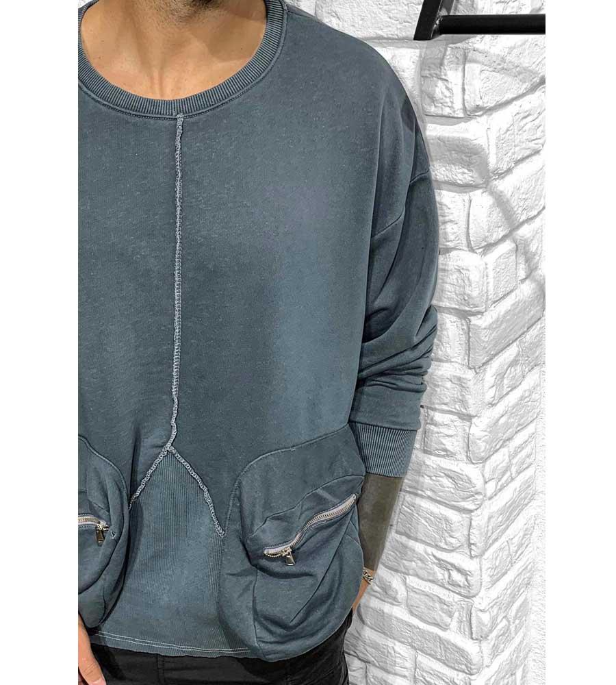 Μπλούζα ανδρική μακρυμάνικη με τσέπες BL41050