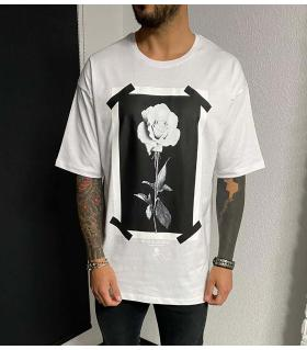 T-shirt oversized -ROSE- BL41106