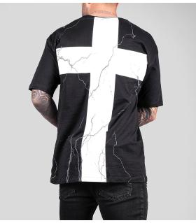 T-shirt oversized -crosses- BL41109