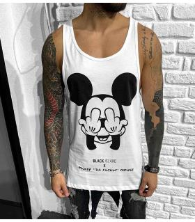 Αμάνικο ανδρικό Tshirt -Mickey- BL41133