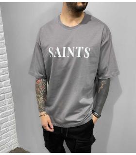 T-shirt oversized -SAINTS- BL41139