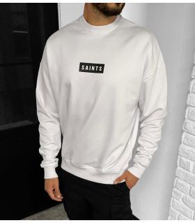 Μπλούζα φούτερ ανδρική -SAINTS- BL41172