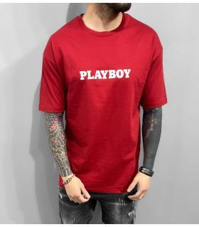 T-shirt ανδρικό oversized -Playboy- BL41189