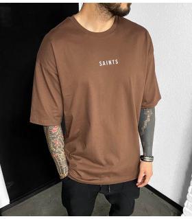 T-shirt ανδρικό oversized -Saints- BL41195