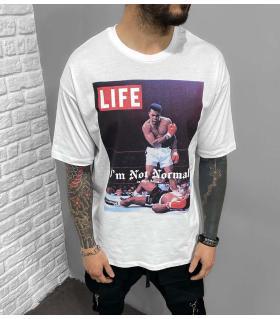 T-shirt ανδρικό oversized -Life- BL41202