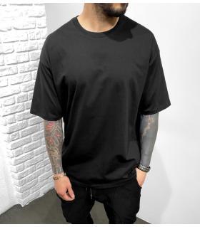T-shirt ανδρικό μονόχρωμο oversized BL41207