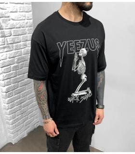 T-shirt ανδρικό oversized -Yeezus- BL41212