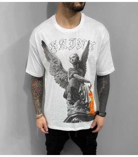 T-shirt ανδρικό oversized -Saint- BL41219