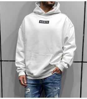 Μπλούζα φούτερ με κουκούλα -SAINTS- BL41281