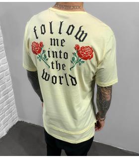 T-shirt ανδρικό -roses- BL41832