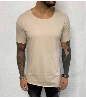 T-shirt ανδρικό ασύμμετρο BL41901