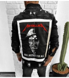 Μπουφάν jean ανδρικό -Metallica- BL45988