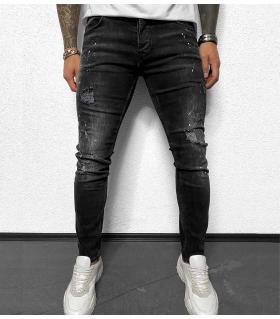 Παντελόνι jean slash & paint BL5151