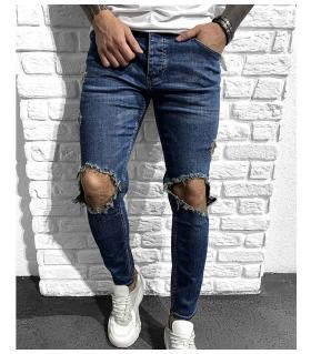 Παντελόνι jean ανδρικό slash BL5334