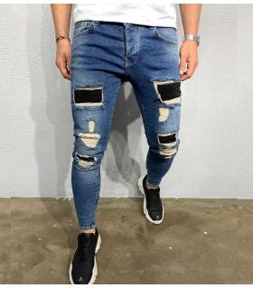 Παντελόνι jean ανδρικό slash & trooks BL5464