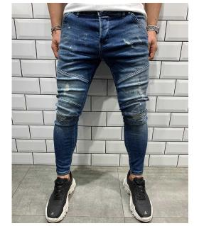 Παντελόνι jean ανδρικό slash BL5474