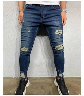Παντελόνι jean ανδρικό slash BL6037
