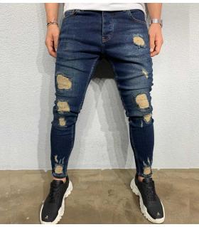 Παντελόνι jean ανδρικό slash BL6043