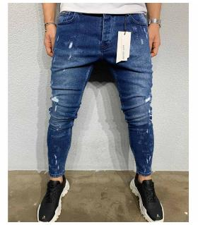 Παντελόνι jean ανδρικό slash BL6044