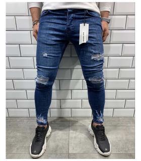 Παντελόνι jean ανδρικό slash BL6076