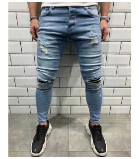 Παντελόνι jean ανδρικό slash BL6080