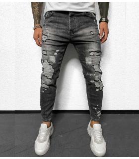 Παντελόνι jean slash & paint BL6107