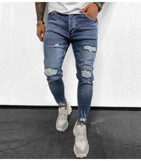 Παντελόνι jean ανδρικό slash BL6118