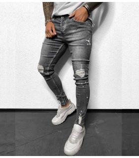 Παντελόνι jean ανδρικό slash BL6123