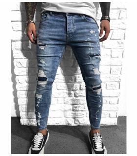 Παντελόνι jean ανδρικό slash BL6126