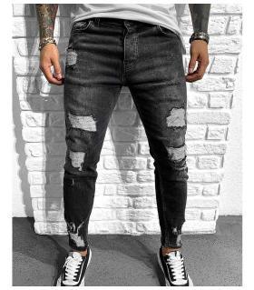 Παντελόνι jean ανδρικό slash BL6133