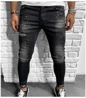 Παντελόνι jean ανδρικό slash & paint BL6154