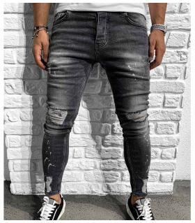 Παντελόνι jean ανδρικό slash BL6160