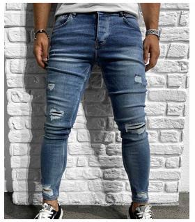Παντελόνι jean ανδρικό slash BL6164