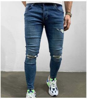 Παντελόνι jean ανδρικό slash BL6264