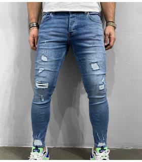 Παντελόνι jean ανδρικό slash BL6265