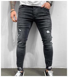 Παντελόνι jean ανδρικό slash BL6279