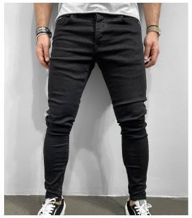 Παντελόνι jean ανδρικό slimfit zip BL6295