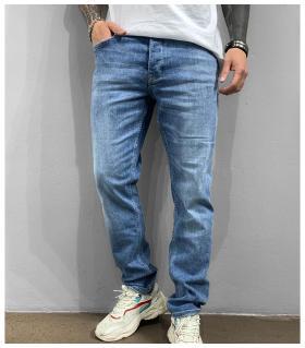 Παντελόνι jean ανδρικό Straight Fit BL6318