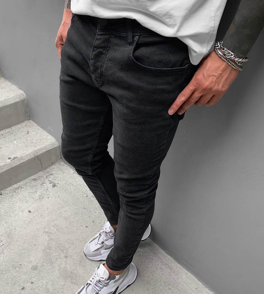 Παντελόνι jean ανδρικό slimfit BL6344