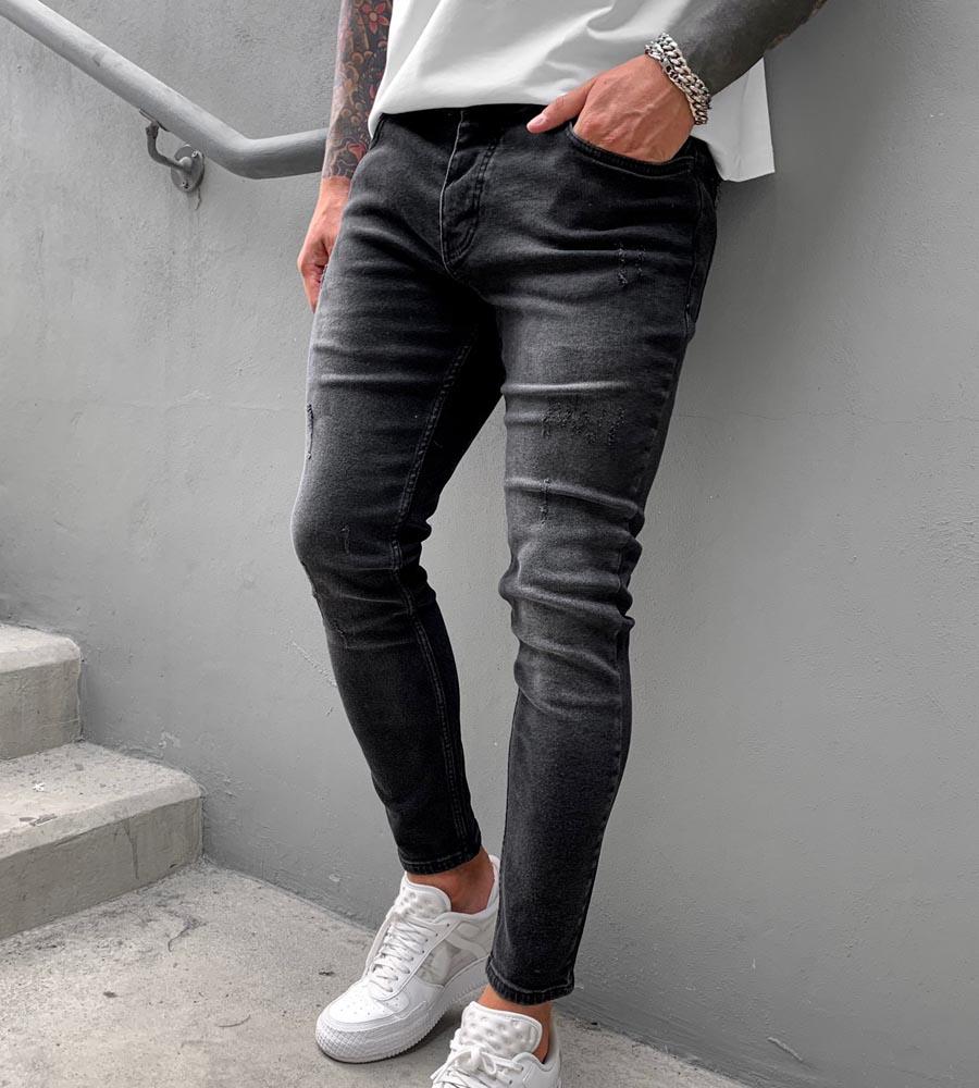 Παντελόνι jean ανδρικό slash BL6345