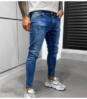 Παντελόνι jean ανδρικό slash zip BL6370
